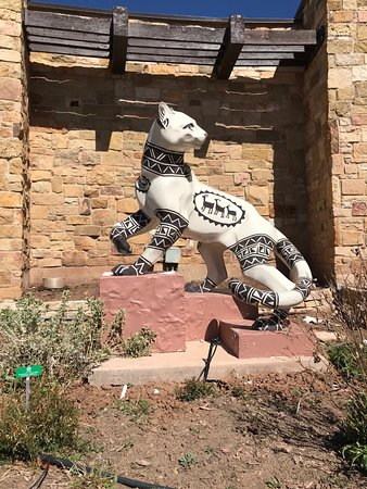 The Anasazi Heritage Center: Beautiful cat display