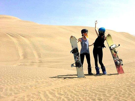 Sandride Sandboarding