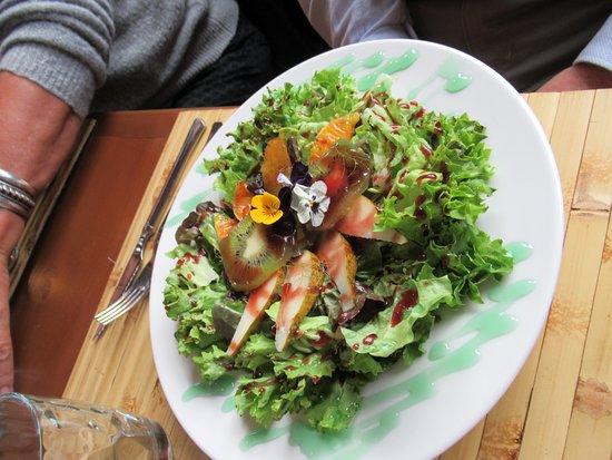 Vilaplana, สเปน: Set menu salad