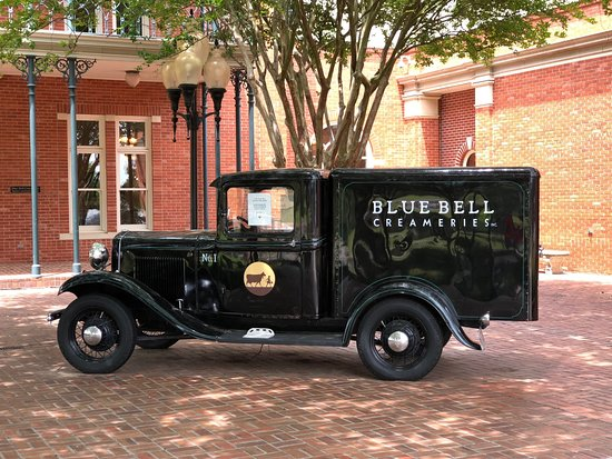 Blue Bell Creameries: An original ice cream delivery truck