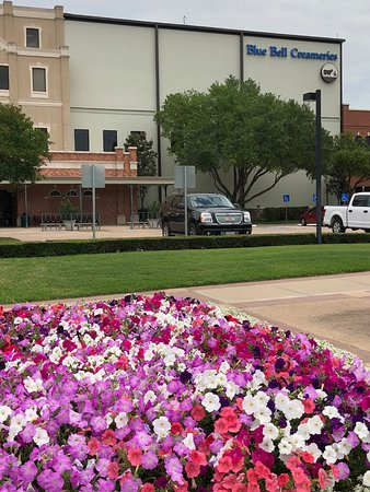 Blue Bell Creameries: Lovely grounds to enjoy