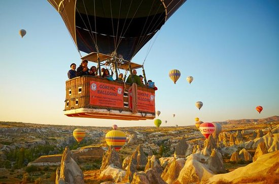 Fairy Chimneys in Cappadocia Hot Air...