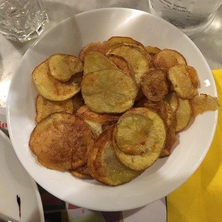 InCaRne Ristorante Macelleria: Patate chips