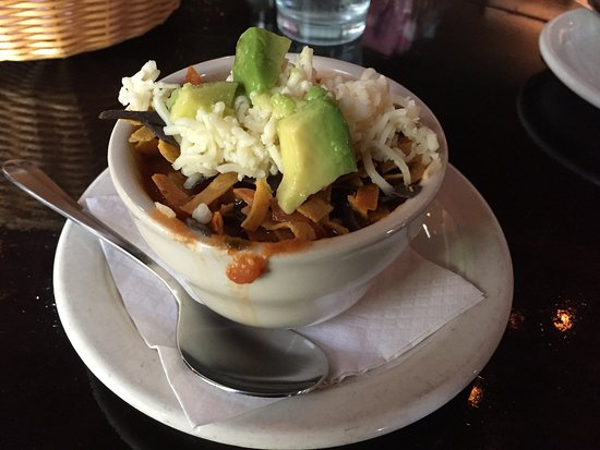 Huisache Grill and Wine Bar: Chicken Tortilla Soup is a specialty here.