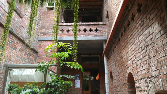 Datong, Taipei: Fabulous garden view, 1925 old rice mill factory