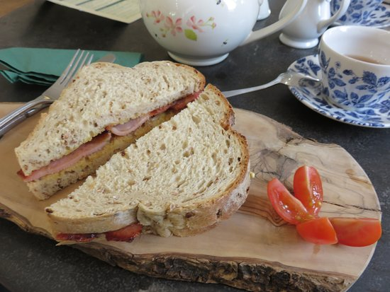 Bishopsbourne, UK: Sandwich bacon