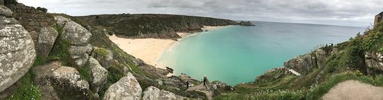 Porthcurno Beach from the Minack steps