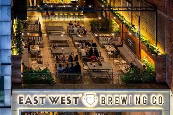 East West Brewing Co Rooftop Beer Garden Booking Eastwestbrewing Vn Picture Of East West Brewing Co Ho Chi Minh City Tripadvisor