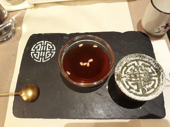 Soon Restaurant: Tiramisu coréen + boisson à la canelle