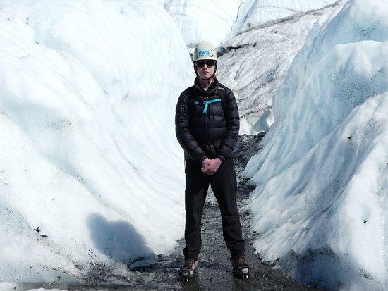 Glacier View, AK: ice walls