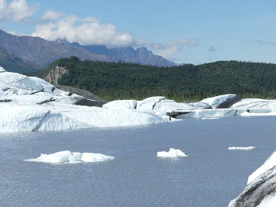Glacier View, AK: icebergs