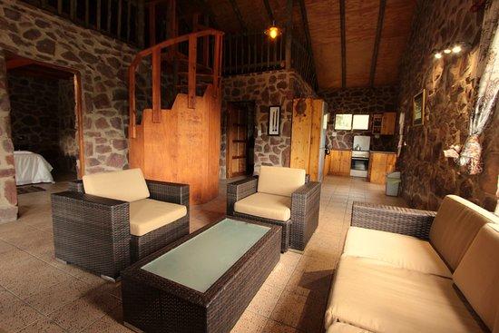 Waterberg, Sydafrika: Bush Lodge living space