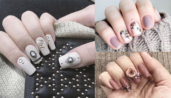 Fashionable Designs For Big Occasions Picture Of The Garden Nail
