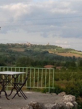 Castelmoron-sur-Lot, Francja: Panorama et intérieur