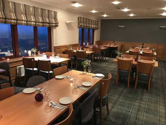 West Lothian, UK: Our dining area