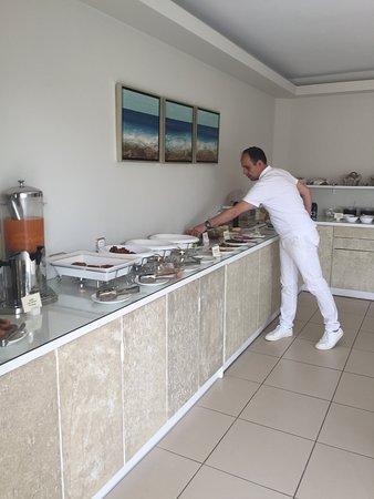 Saint Vlassis Hotel: Breakfast buffet