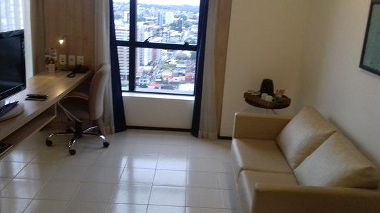 Quality Hotel Manaus: Suite luxo andar alto
