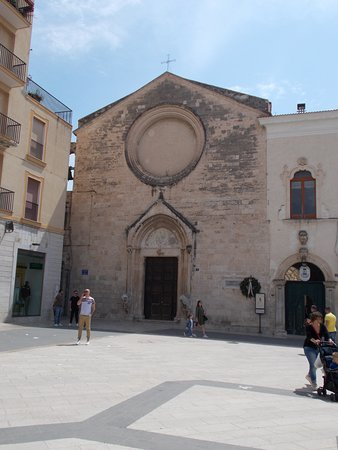 Manfredonia, Olaszország: La facciata di san Domenico