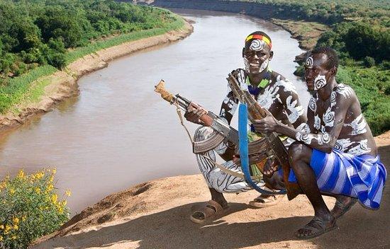 Jinka, Äthiopien: kara tribe