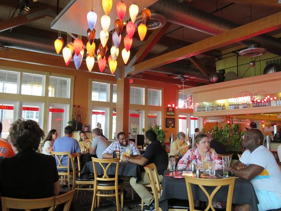 Willie G's Seafood & Steaks: Cheery bright dining room