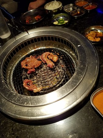 Iron Age Korean Restaurant: Barbecue at the table