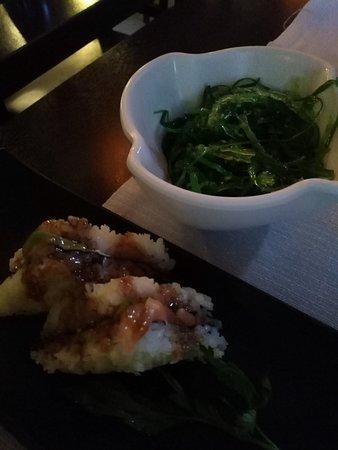 Kobe Sushi: Sandwich e alghe