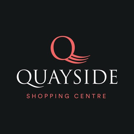 Sligo, Irlanda: Quayside Shopping Centre Logo