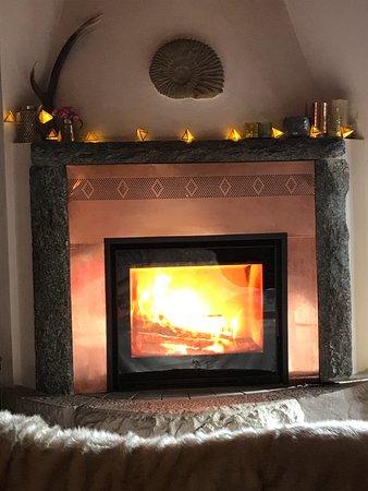 Premione, อิตาลี: Fire Place