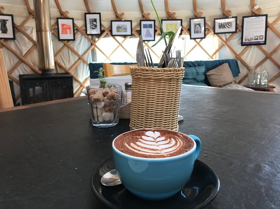 Yurt Café Limehouse Aufnahme