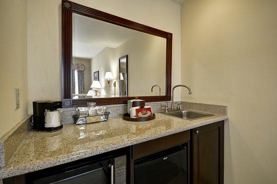 Hampton Inn & Suites Savannah Historic District: Suite Wetbar