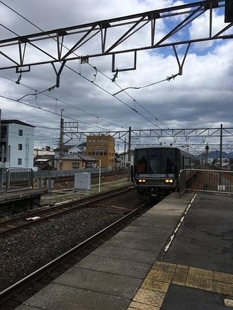 Kinki, Japon : 223系新快速列車。