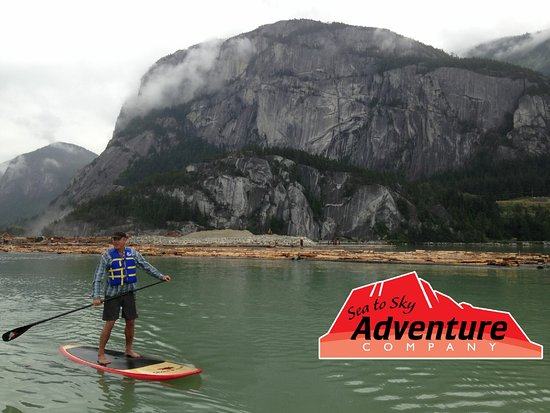 Sea to Sky Adventure Company: Paddling under the Shadow of the Chief.