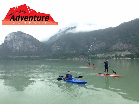 Sea to Sky Adventure Company: Kayak or Paddleboard or both.