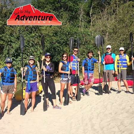 Sea to Sky Adventure Company: Sandy Beach Start of the Squamish River Paddle Tour