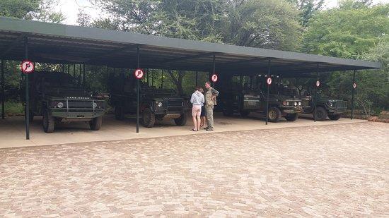 Erindi Game Reserve, Namibia: Auf zur Game Drive