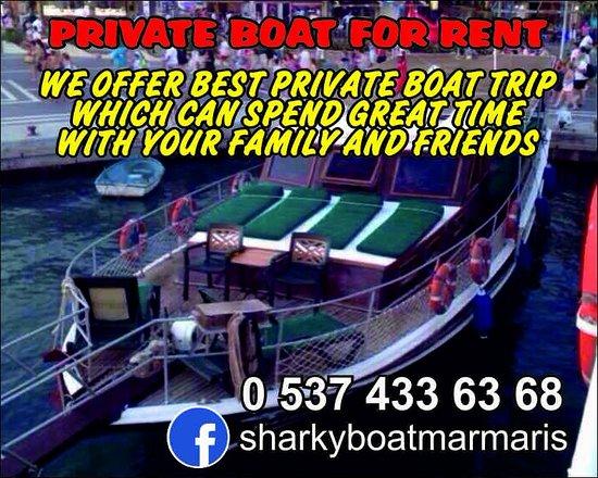 Mehmet Kara - Sharkie Private Boat Trip Marmaris