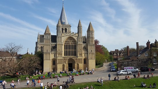 Rochester Cathedral: dal Castello