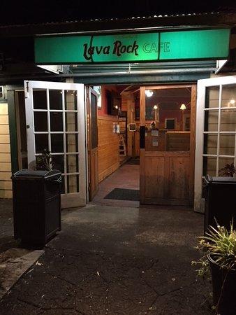 Foto de Volcano's Lava Rock Cafe