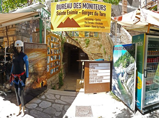 Bureau des Moniteurs de Sainte-Enimie