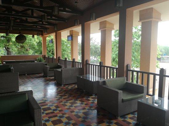 Stadtbereich Islamabad, Pakistan: veranda