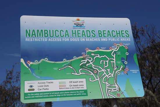 Nambucca Heads, Australia: A map