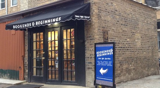 Evanston, IL: Keep an eye out for our big blue sign on Sherman ave. to find the store