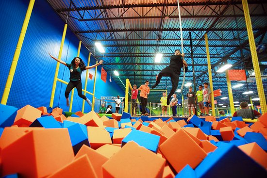 Beaumont, TX: Foam Pit!