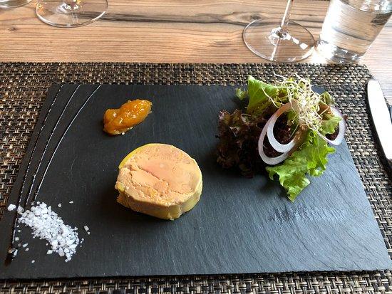 Saxon, Suíça: Foie gras à l'abricotine