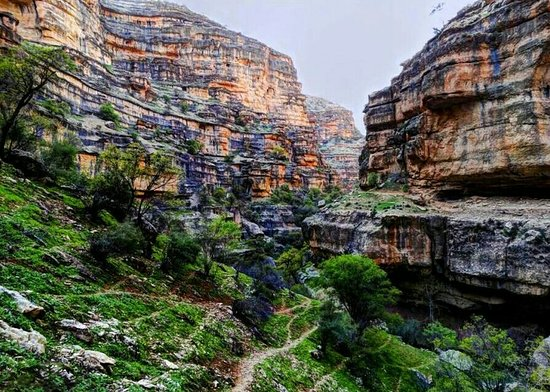 Lorestan Province, Iran: Shiraz Canyon