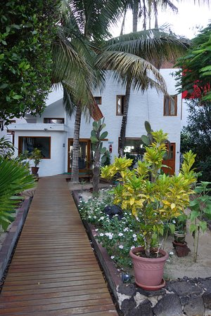 La Casa de Marita : Front view of Hotel