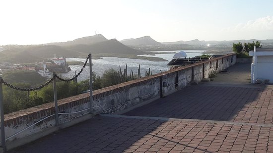 Fort Nassau: View West