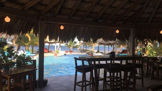 White Sands Cove Resort: View from the bar/restaurant.