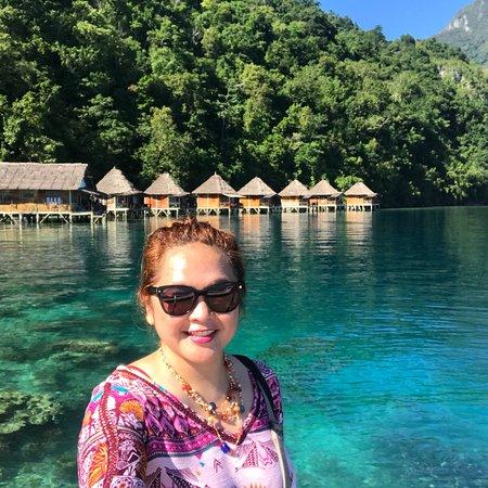 Seram Island, Indonesien: Cuaca cerah...