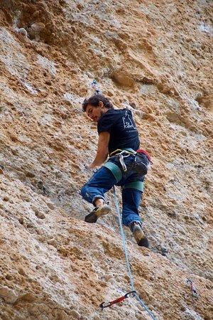 Margalef, إسبانيا: Climbing en #margalef